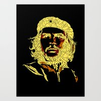 che Art Prints featuring che by raj verma