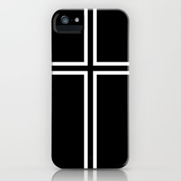 KOF Kyo Kusanagi Cross iPhone Case