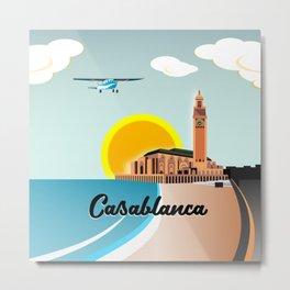 Casablanca Morocco Metal Print