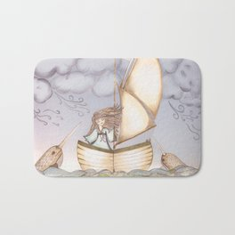 Spirit of the Narwhal Bath Mat