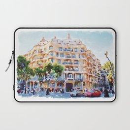 La Pedrera Barcelona Laptop Sleeve