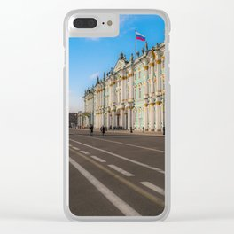 The Winter Palace Clear iPhone Case