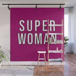 Superwoman Wall Mural