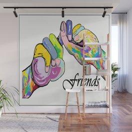 ASL Friends Wall Mural