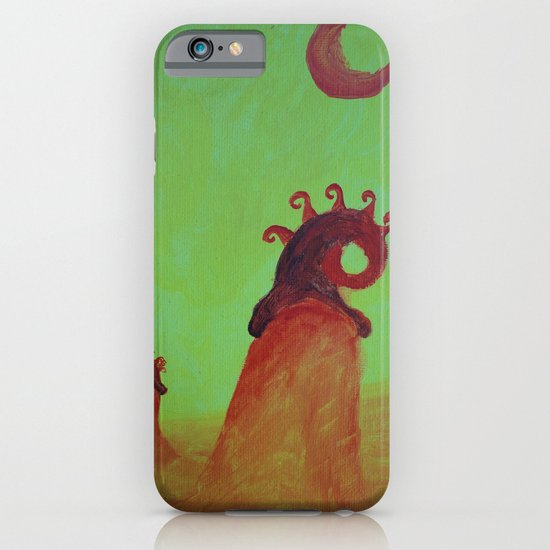 Plants and Moon iPhone & iPod Case