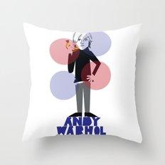 Warhol Throw Pillow