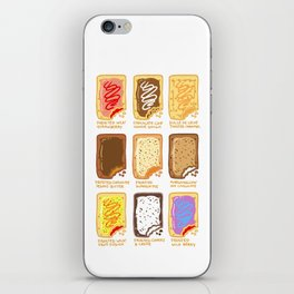 Pop Tart Pop Art iPhone Skin