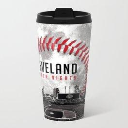 Cleveland Summer Nights Metal Travel Mug