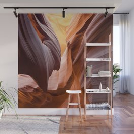 antelope canyon beam Wall Mural