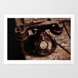 Brick House Phone Art Print