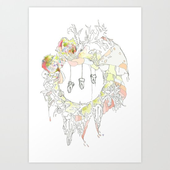 sugar tooth Art Print