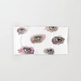Eye Studies Hand & Bath Towel