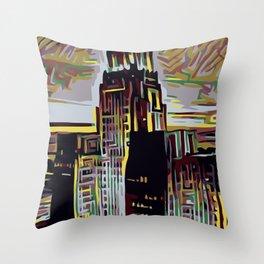 CITY TRIP Throw Pillow
