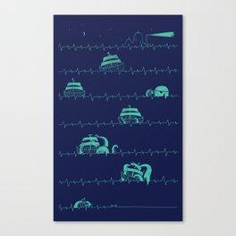 Sea of the Death Canvas Print