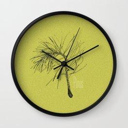 Pinus Wall Clock