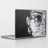 anonymous Laptop & iPad Skins featuring Anonymous - Ella by Fernando Vieira