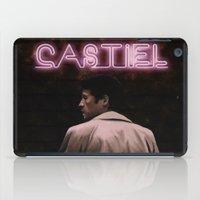 castiel iPad Cases featuring CASTIEL by mycolour