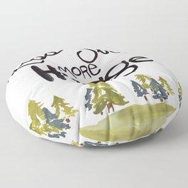 Less stress more Hygge Floor Pillow
