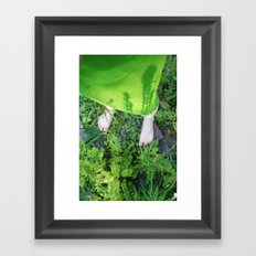 your shadows are growing on me Framed Art Print