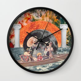Fruitful Echelon Wall Clock
