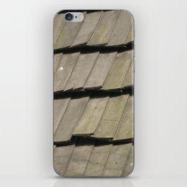 Texture #16 Roof tiles. iPhone Skin
