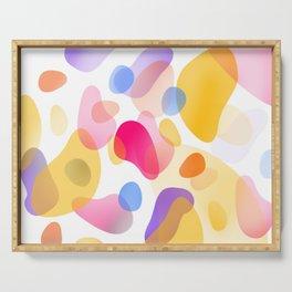 Pattern, wallpaper, forme e colore Serving Tray