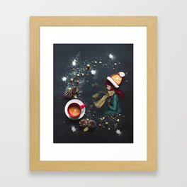 Sweet hat Framed Art Print