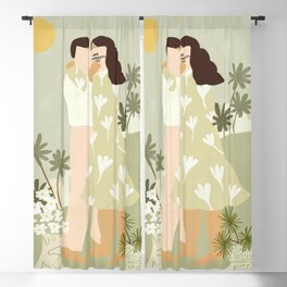 Love Conquers All Blackout Curtain