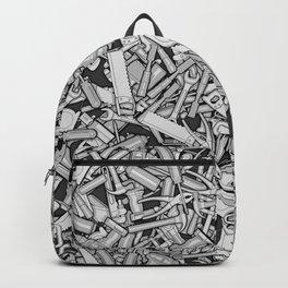 Toolbox DIY Tools Pattern Backpack