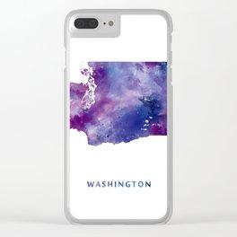 Washington Clear iPhone Case
