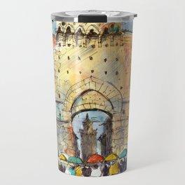 Gate of San Gimignano, Tuscany Travel Mug