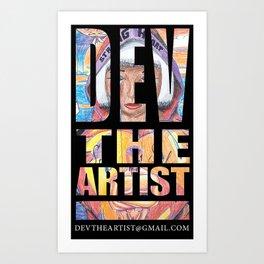 devtheartist Art Print
