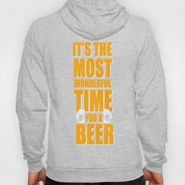 It's the most wonderful time for a beer Hoody