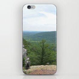 Over the cliff iPhone Skin