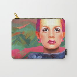 """She was always a Pop Girl (Twiggy)"" Carry-All Pouch"