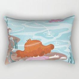Giadina at the creeck Rectangular Pillow