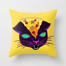 Delicious Cat Throw Pillow