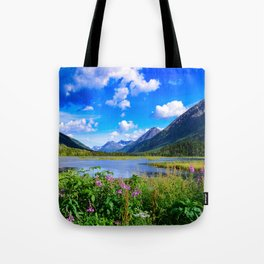 God's Country - IV, Alaska Tote Bag