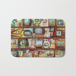 The Golden Age of Television Bath Mat