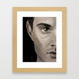 Sketchbook Dean Framed Art Print