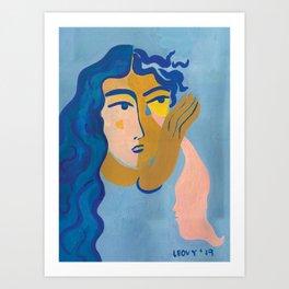 Goodbye Tears Art Print