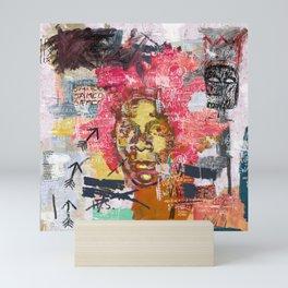 Jean-Michel Basquiat Portrait Mini Art Print