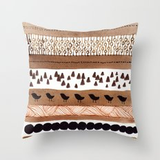 Pattern / Nr. 3 Throw Pillow
