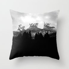 Wisdom of Nature Throw Pillow