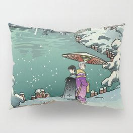 Ukiyo-e: Yuri on Ice Pillow Sham