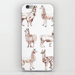 LLAMARAMA iPhone Skin