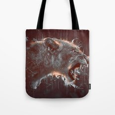 DARK LION Tote Bag