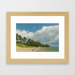 Waiohuli Maui Beaches Kihei Maui Hawaii Framed Art Print