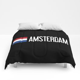 Netherlands: Dutch Flag & Amsterdam Comforters