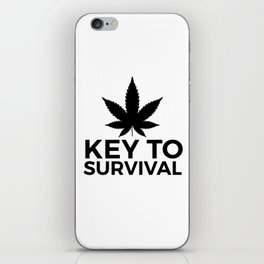 Weed Cannabis leaf gift idea 420 iPhone Skin